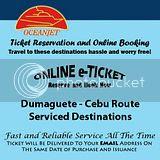 OceanJet Dumaguete-Cebu Route