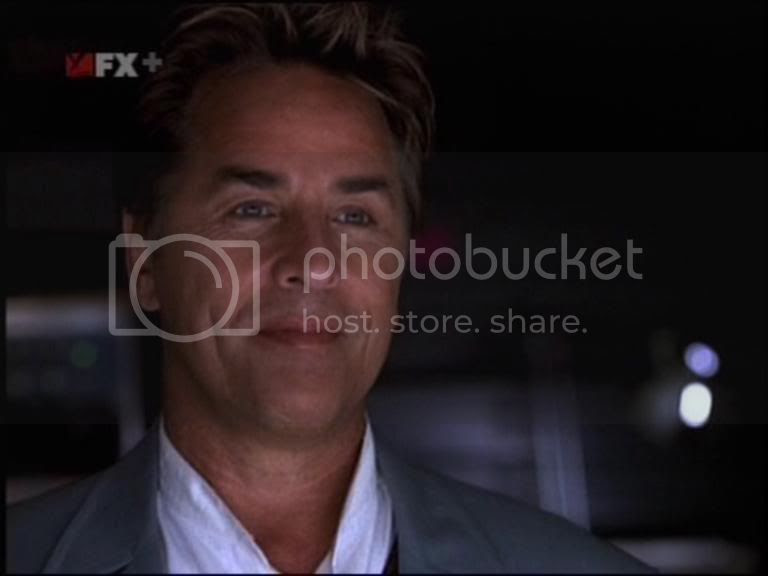 Don Johnson is cheesy... I mean Nash Bridges