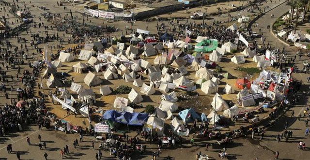 La Plaza de Tahir de El Cairo, símbolo de protestas. | Efe