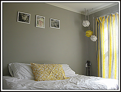 Gray and Yellow Bedroom | DIY Show Off ™ - DIY Decorating and Home