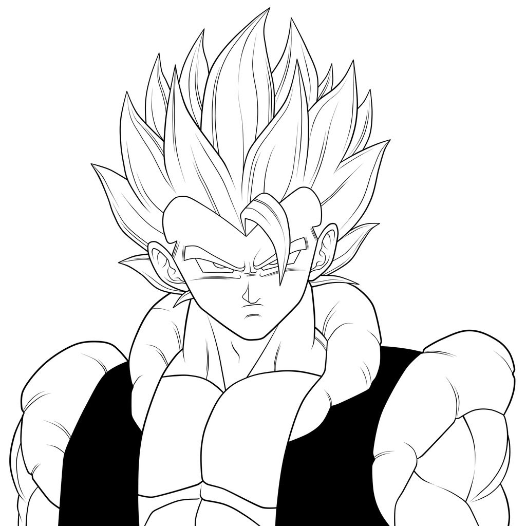 Dragon Ball Z Coloring Pages Easy Coloring And Drawing