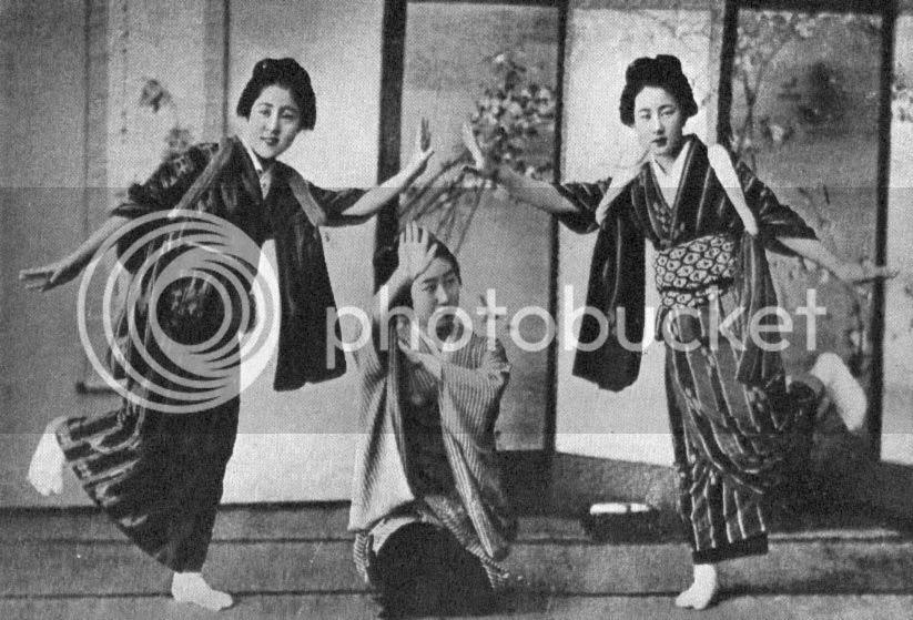My travels in China, Japan and Java, 1903 by Jagat-Jit Singh, Raja-i-Rajgan of Kapurthala (1905), p.82A (Dancing.)