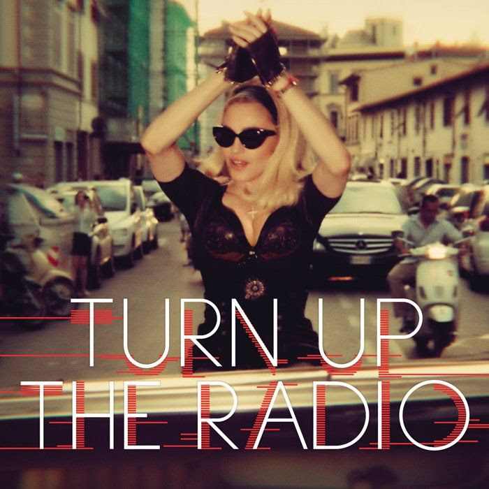 Turn Up the Radio (Single Cover), Madonna