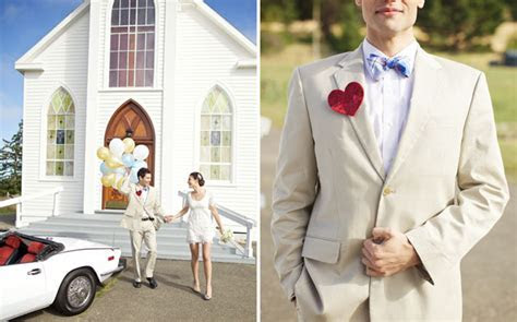 An Elopement at a Little White Chapel