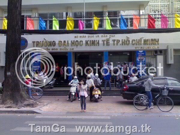 Trường tiếp theo là trường Đại Học Kinh Tế TPHCM