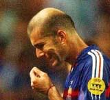 Zidane: heard voices