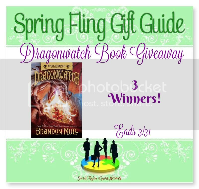 Enter the Dragonwatch Book Giveaway. Ends 3/31