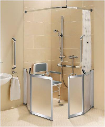 Supreme Half Height Shower Doors Half Height Shower Enclosures That Facilitate Carer Assistance