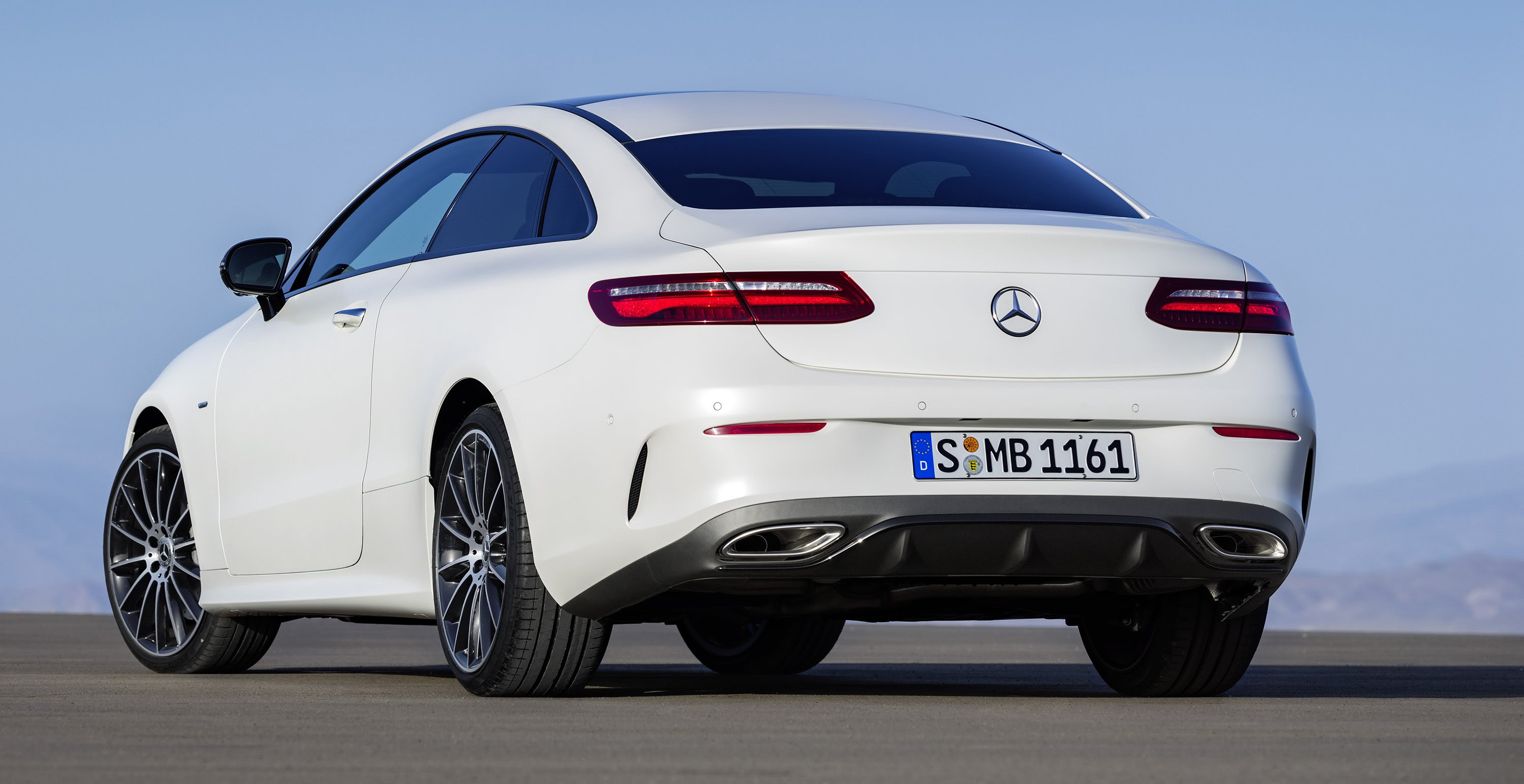 2017 Mercedes-Benz E-Class Coupe revealed ahead of ...