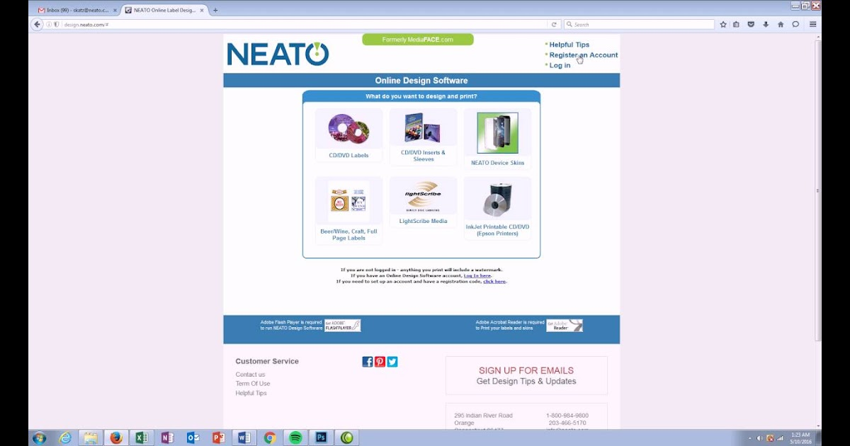 33 Neato Cd Label Software Labels Database 2020