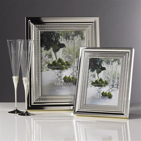Vera Wang Wedgwood With Love Silver Giftware Frame 4x6
