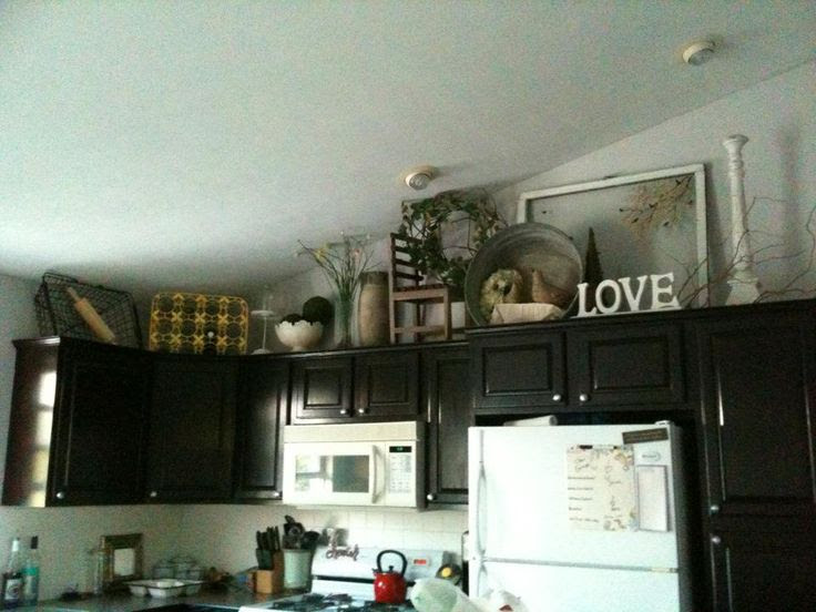 Decor Above Cabinet Kitchen | Interior Home Page