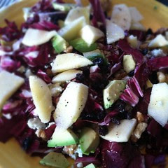 #radicchio #salad