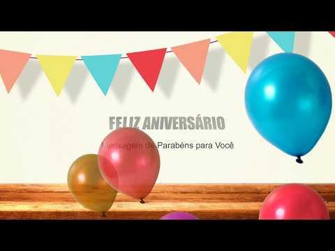 Mensagem de Parabéns para Você Parabéns mensagem de Aniversário.