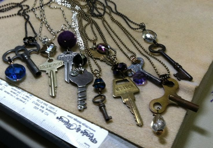 Midnight Kat Productions Art Jewelry: The key to ????