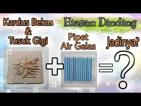 Konsep DIY Cara Membuat Hiasan Dinding dari Kardus bekas ...