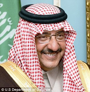 Interior Minister Prince Mohammed bin Nayef was told to clear the way for an execution of the royal
