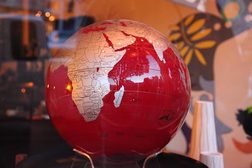 Red Globe by nhanusek, on Flickr