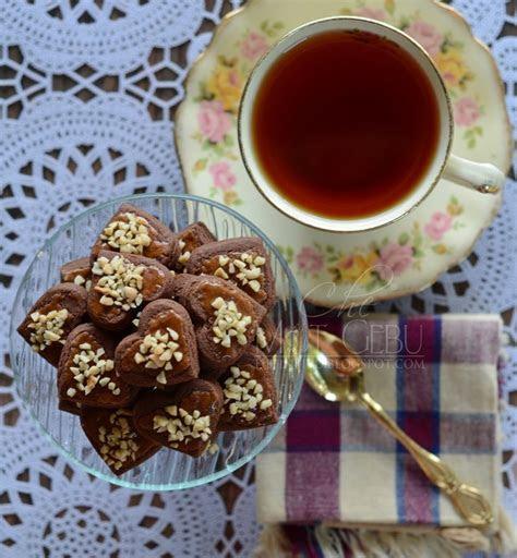 resipi biskut shortbread coklat