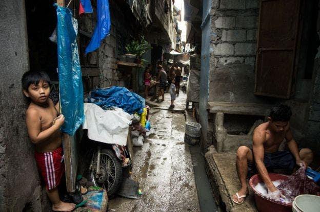 El crimen y la desigualdad abundan en algunos barrios de Filipinas