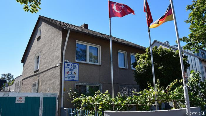 Sede actual de la asociación cultural turco-islámica, en Monheim.