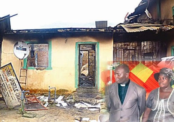 It's The Will Of God – CAC Pastor Who Lost His Wife And 4 Kids To Fire Says