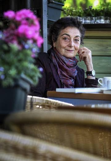 La escritora argentina Gabriela Massuh, en Madrid.