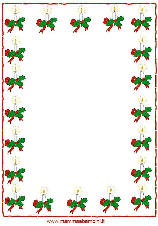 Cornicette Di Natale Da Colorare Acolore