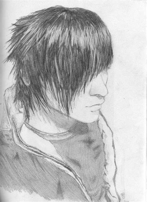 emo boys sketches emo boy  evenineedlove
