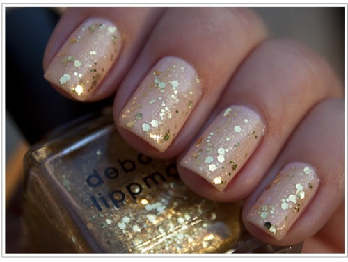 "Glitter Nails - Debra Lippman ""Boom Pow"" Polish"