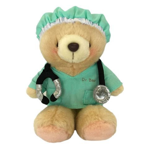 "6"" Doctor Forever Friends Bear   Forever Friends Official"