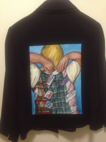 Patchwork Health a jacket for  Mary Griskewicz