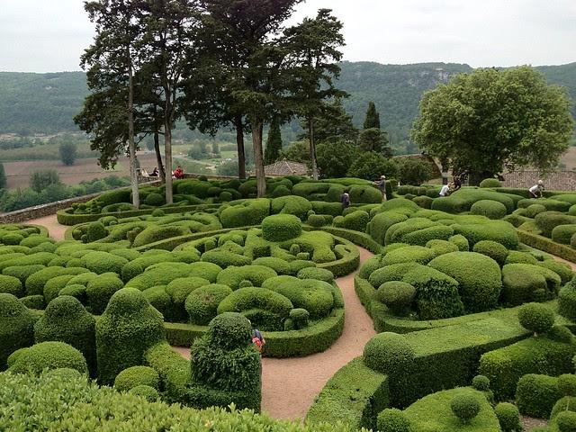 The Gardens at Chateau Marqueyssac