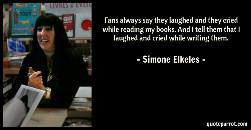 Fans Always Say They Laughed And They Cried While Readi By Simone