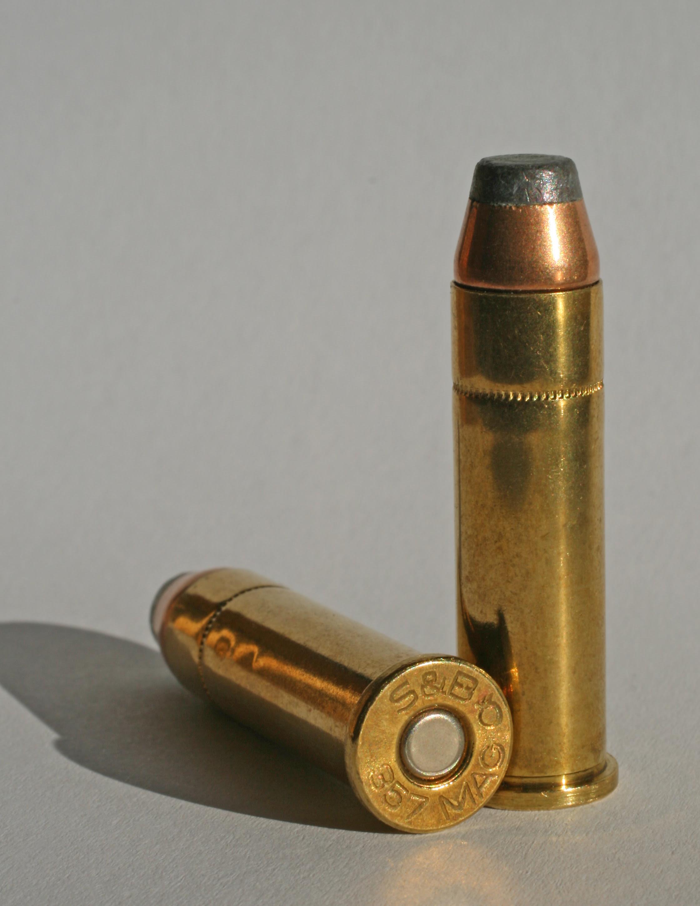 Resultado de imagem para .357 Magnum munition