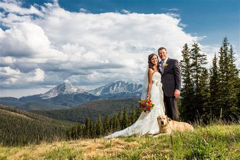 Timber Ridge Wedding Photos, Keystone, Colorado