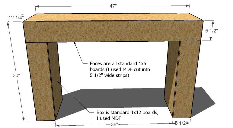 Ana White   Build my Desk. I love it. - DIY Projects