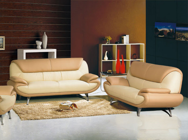 Sofa Set - contemporary - living room - los angeles - by Vons ...