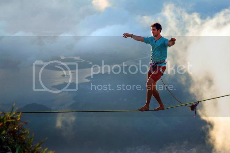 Image result for pictures of walking on a tightrope