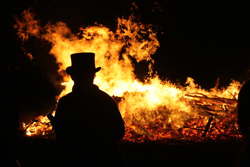 Barcombe Bonfire 2010