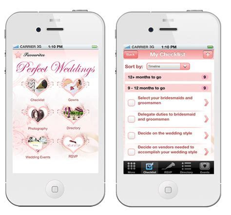 Singapore's First Wedding Planning iPhone App