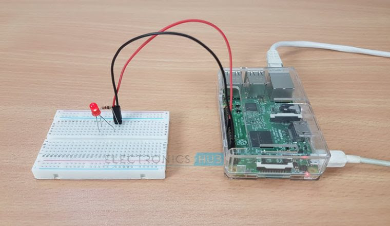 How to Blink an LED with Raspberry Pi Image 3