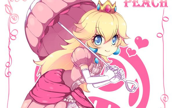 Cute Kawaii Princess Peach Fanart
