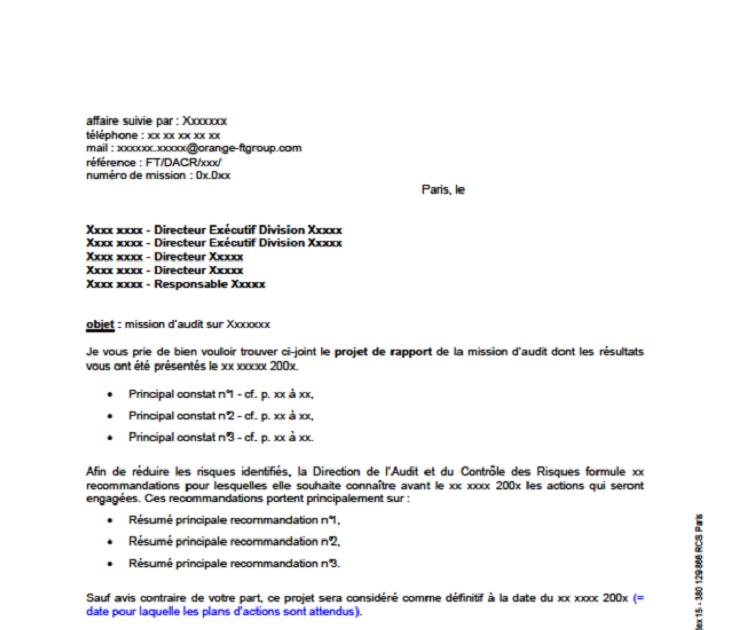 lettre de motivation auditeur interne d u00e9butant
