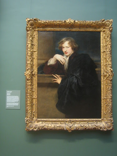 Self-portriat, possibly 1620-21, Anthony van Dyck _8341