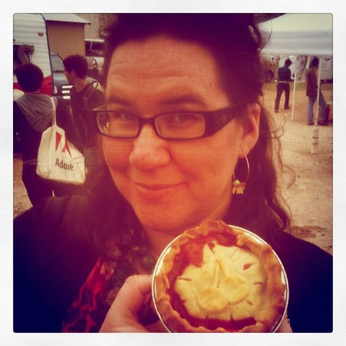 She's my cherry pie @piefixeseverything #SXSW