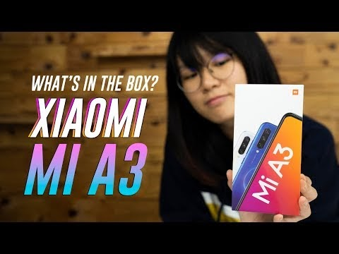 Xiaomi Mi A3 unboxing & hands-on
