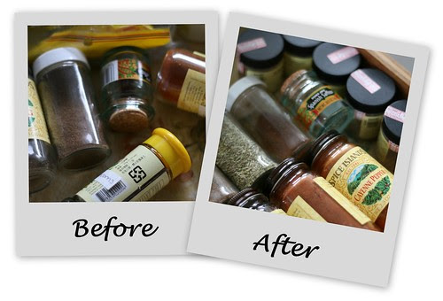 pantry cont - spices