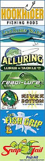 Win free fishing lures, free fishing tackle, free fishing rods, and free tackle boxes