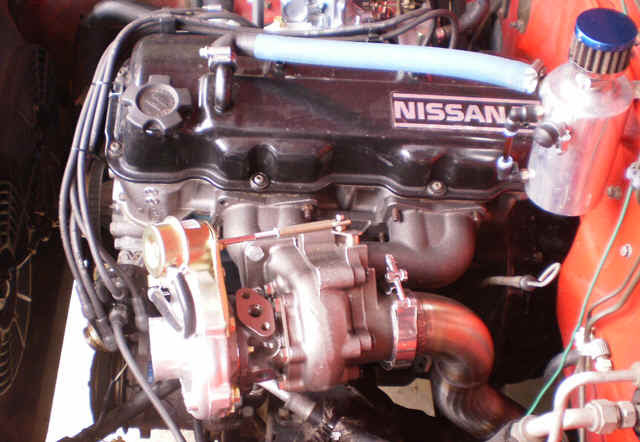 1987 Nissan Pickup Z24 Engine